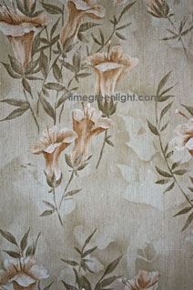 patterned floral wallpaper